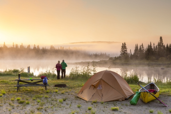 Canot-camping
