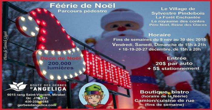 Christmas Magic At Route Des Gerbes DAngelica