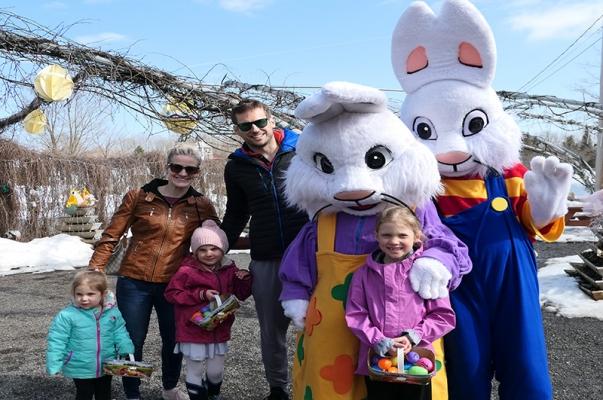Activité de Pâques - Course aux oeufs avec énigmes