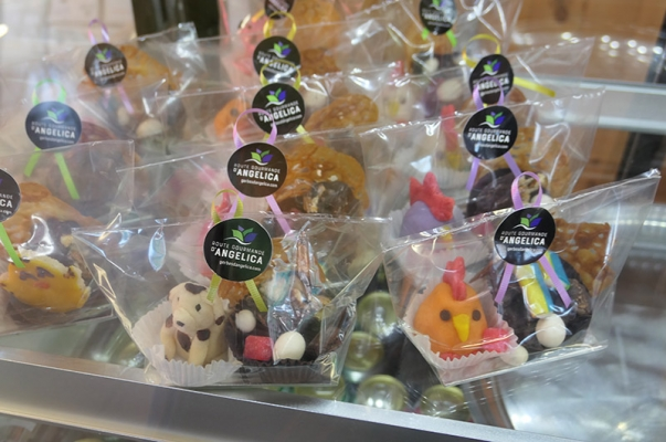 Easter delights in marzipan and chocolate