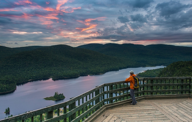 Parc national du mont tremblant hiking tourisme for Lac miroir mont tremblant