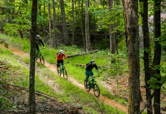 Mountain biking Mont-Tremblant