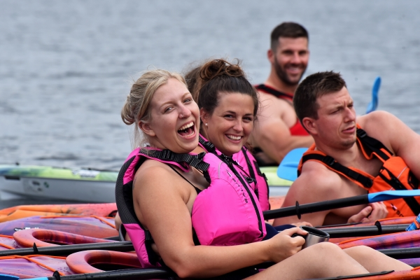Fun day on the water with friends