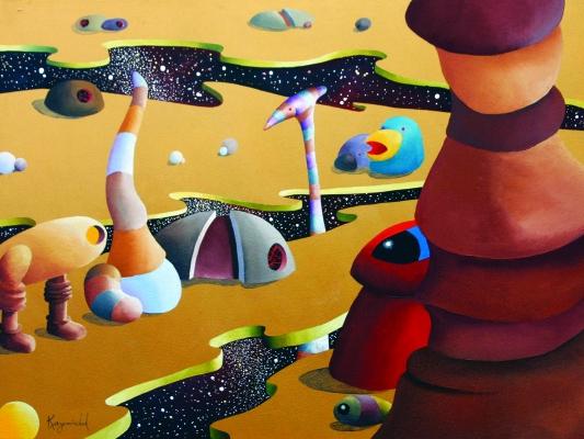 JEAN KASEMIRCHUK art sudio visit