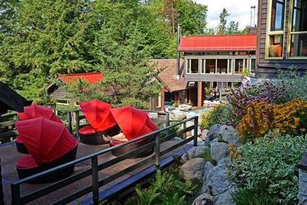 Scandinave Spa Mont Tremblant Tourisme Laurentides