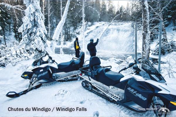 Windigo Fall, Parc régional Montagne du Diable