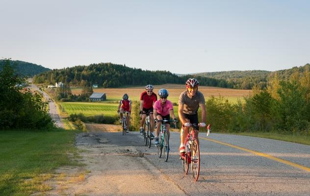 biking Laurentian
